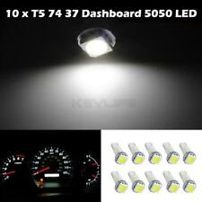10x White T5 74 37 73 257 5050 SMD Instrument Speedo Dash LED Light for Honda