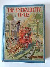 The Emerald City of Oz, L Frank Baum, John R.Neill 1910 1st Edition, Ships FREE