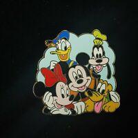 Disney Pin My First Starter Set Fab 5 - Mickey Minnie Donald Pluto Goofy 67794