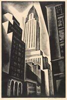 Howard Cook : Chrysler Building : 1930 : Archival Quality Art Print
