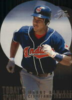 1995 Flair Today's Spotlight Cleveland Indians Baseball Card #10 Manny Ramirez