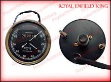Smiths Replica Speedo Meter Speedometer 0-80 MPH Black For BSA, Vincent, Ariel