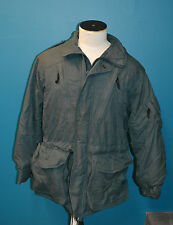 Used Canadian military parka Blue Sz 7040 ( medium-regular ) ( ref#pb16box193)