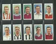 CIGARETTE CARDS WILLS  1939 ASSOCIATION FOOTBALLERS - FULL SET