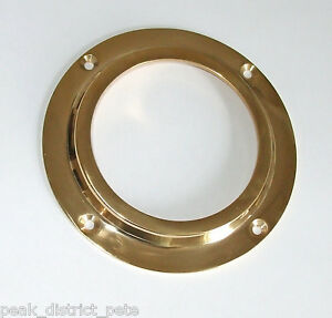Canal boat 71mm brass porthole (nb - glass not included)          CP001