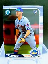 Pete Alonso Bowman Chrome Rookie 2018 New York Mets