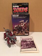 Tomy Zoids vintage Oer Hellcat 1/72 scale kit built with box Aka Helcat