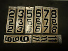 Autographics Number decals 2 3 5 6 7 8 9 11 Vintage new old stock BRAND NEW