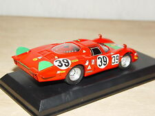 "ALFA-ROMEO 33.2 ""Longue"" #39 1/43 - 4e Le Mans 1968, 1er classe - BEST model"