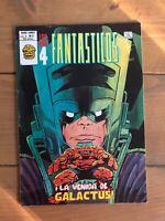 Fantastic Four #48 Spanish Edition Euro 1st App. Silver Surfer Galactus