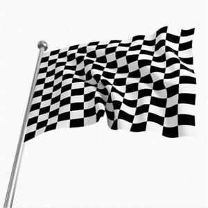 Drapeau Damier, Course Race Flag 90X150cm Spécial Exterieur