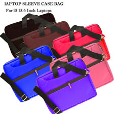 More details for 15.6 inch laptop pc ipad table shoulder bag carrying soft notebook case cover uk