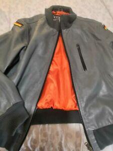 Repro German Luftwaffe Bundeswehr Leather Flying Jacket. Excellent Cond XL/XXL