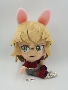 """Tiger & Bunny B2405 Kotetsu Kaburagi Banpresto 2012 Plush TAG 6"""" Toy Doll Japan"""