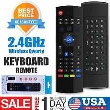 Wireless Keyboard Remote Control Mx3 Air Mouse For Android Smart Tv Box Laptop