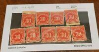 Scott#: J85 - Postage Due: 30 cents MNH OG Single Stamp