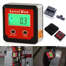 Digital Wasserwaage Winkelmesser mit Magnet Neigungsmesser Messgerät Bevel Box