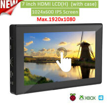 7inch LCD HDMI 1024 *600 Display IPS Touch Screen with PC Case For Raspberry Pi