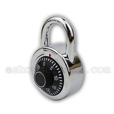 Standard 3 Digit Dial Combination Padlock Keyless Anti-Theft Security Lock 50MM