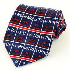 The Periodic Table Mens Necktie Science Chemistry Chemist Scientist Neck Tie New