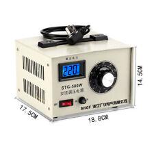 500W 220V Single-phase AC Voltage Regulator Voltage Stabilizer 0-300V Adjustable
