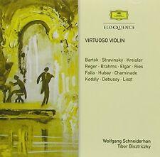 Virtuoso Violin - Tibor / Schneiderhan,Wolfgang Bisztriczky (2015, CD NIEUW)