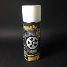 Sprühfolie Felgenfolie Flüssiggummi 1x 400ml Spray weiss glänzend