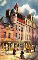 Byrons House Aberdeen postcard Scotland Oilette antique Raphael Tuck & Sons