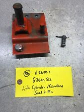 Gilson S-12 Tractor Hydraulic Lift Cylinder Mounting Pin and Stud
