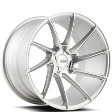"4ea 19"" Savini Wheels BM15 Silver Brushed Silver Rims (S2)"