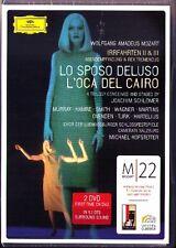 2.DVD MOZART Lo sposo deluso / L'oca del Cairo M22 Ann Murray Malin Hartelius HD