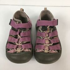 Keen Little Kids Size 10 Pink/Purple Waterproof Sandals