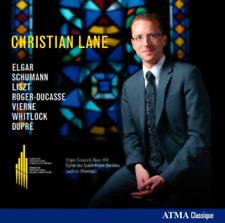 Montreal - Christian Lane CD Elgar, Schumann, Liszt, Roger-Ducasse Viern RARE