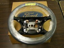 NOS 1994 1995 1996 1997 1998 Ford Mustang Leather Wrap Steering Wheel Black