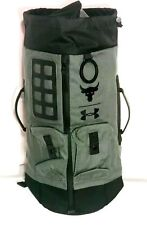 a5f079f5c2d5 UA X Under Armour Project The Rock DJ 60 Green Military Duffel Bag Backpack  NWT