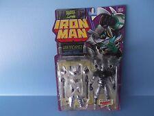 "Marvel Comics Iron Man War Machine w/Double barrel Missile Launcher 5""in Toy Biz"