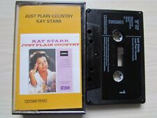 KAY STARR 'JUST PLAIN COUNTRY' CASSETTE, STETSON HATC 3049, TESTED.