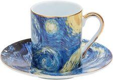 Aramco AI21977 Small Tea, Coffee, Espresso Cup & saucer, set of 6, Gift Set