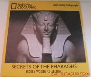 NATIONAL GEOGRAPHIC DVD SECRETS OF THE PHARAOHS HIDDEN WORLDS COLLECTION