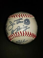 1997 CLEVELAND INDIANS WORLD SERIES Signed Team Baseball MLB Facsimile Autograph