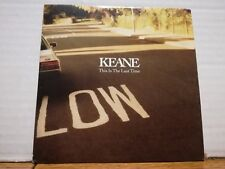 KEANE - THIS IS THE LAST TIME - cd singolo cardsleave PROMOZIONALE 2004 NUOVO