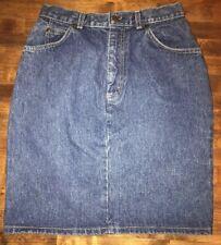 1970s Vintage Levi Orange Tab Fitted Denim 5 Pocket Mini Skirt - 27� inch waist