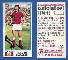 NUOVA//NEW 487 MASCETTI TORINO FIGURINA CALCIATORI PANINI  1974//75