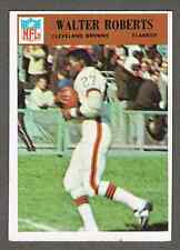 1966 Philadelphia Football Card #48 Walter Roberts - >50-years old, see pics!