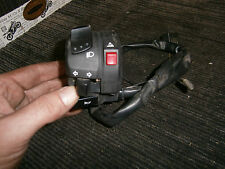 Suzuki GSF650 Bandit K8 2008 interruptor de engranaje LHS controles