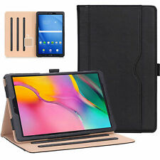 Leather Tablet Stand Folio Cover Case For Samsung Galaxy Tab A10.1 T510 T515 19
