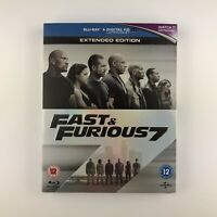 Fast & Furious 7 (Blu-ray, 2015) s *New & Sealed*