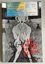 Vintage An Enemy of the People Playbill 1987, Daniel Escobar, William Larsen