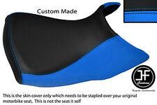 Luz azul y negro personalizado de vinilo cabe BMW R 1200 GS 04-12 Baja Cubierta de asiento delantero
