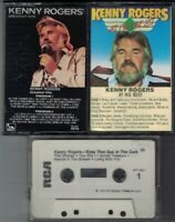 Lot of 3 - Kenny Rogers Music Audio Cassette Tapes - Greatest Hits & At His Best